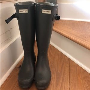 Hunter boots: Norris Field Side Adjustable Boots